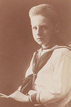 Prince Nicholas of Romania was the second son of King Ferdinand and Queen Marie of Romania.