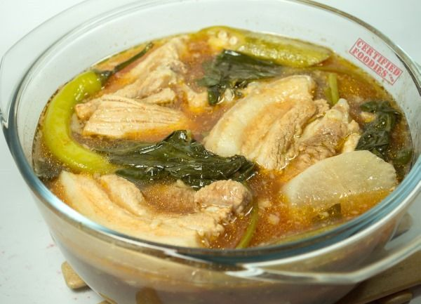 Red Pork Sinigang - Del Monte Kitchenomics recipe