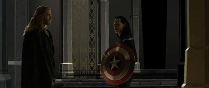 loki dark world | Thor The Dark World: Tom Hiddlestone nel costume di Cap