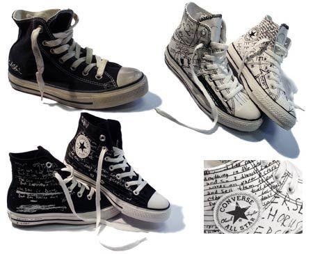 Converse - Kurt Cobain Collection  http://www.threadflip.com/items/189486-kurt-cobain-converse-collectable-very-rare