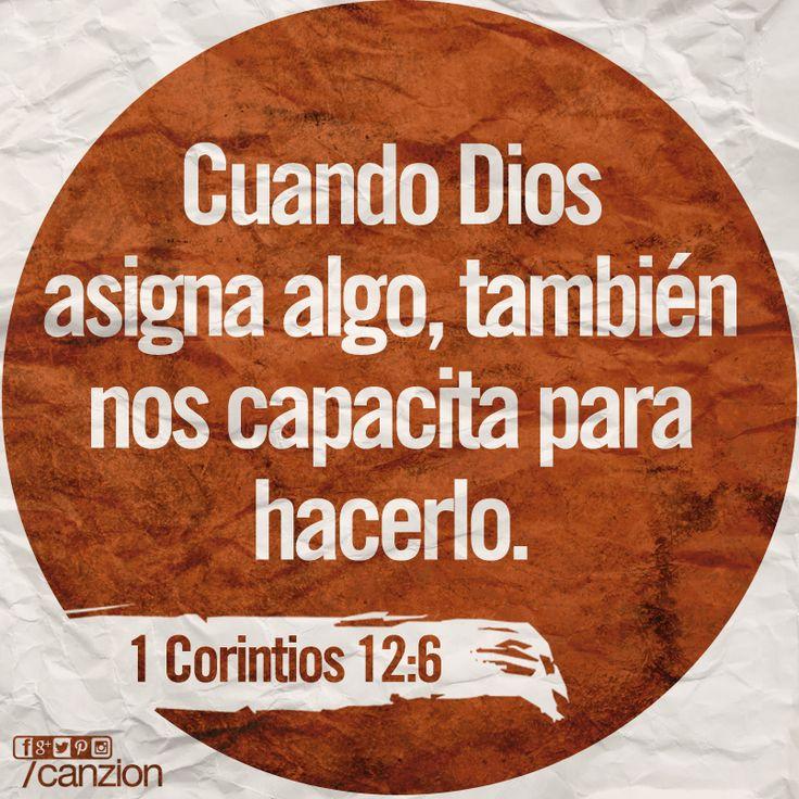 «Dios trabaja de maneras diferentes, pero es el mismo Dios quien hace la obra en todos nosotros». —1 Corintios 12:6