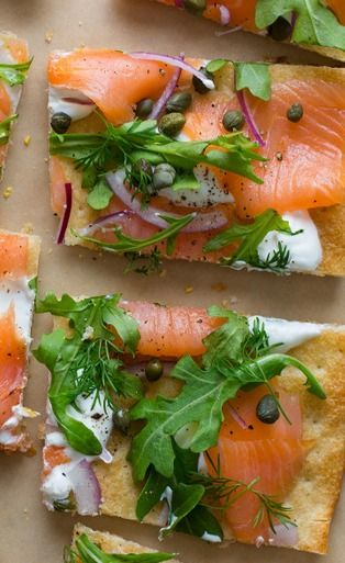 Smoked Salmon Pizza.  Try something new with your BakerStone Pizza Oven Box. Convert your grill to a gourmet pizza oven and make Neapolitan pizzas in under 5 minutes. Available at Bed Bath & Beyond, Costco, London Drugs and local hardware stores. #thinkinsidethebox #fishpizza