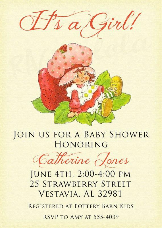 baby shower pinterest vintage strawberry shortcake strawberry