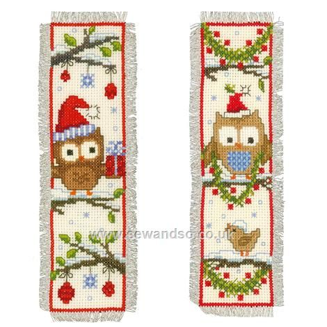 Shop online for Owls in Santa Hats Bookmarks Cross Stitch Kit at sewandso.co.uk. Browse our great range of cross stitch and needlecraft products, in stock, with great prices and fast delivery.