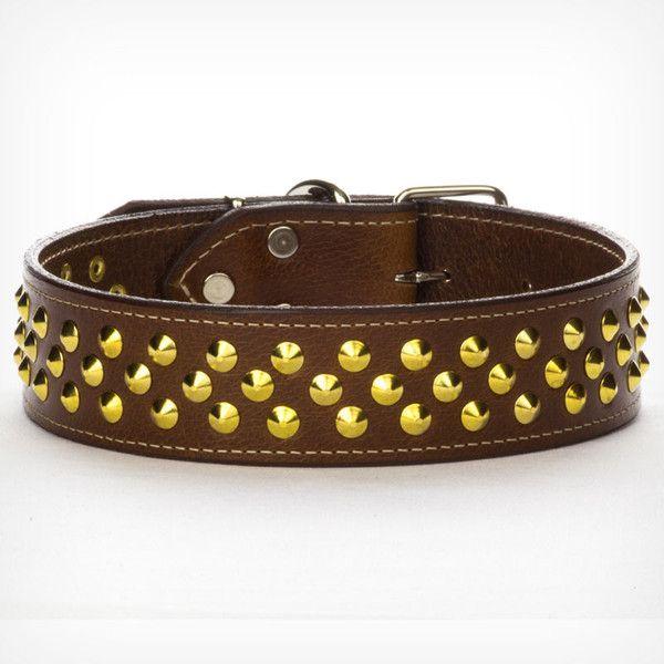Custom Beaded Leather Dog Collars