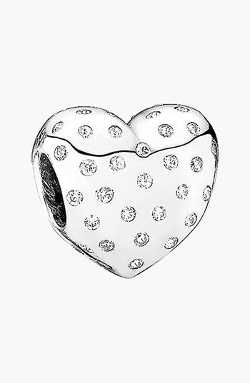 PANDORA 'Sparkle of Love' Bead Charm available at #Nordstrom