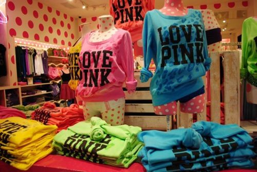 Love these Pink store shirts :)! | Pretty In Pink!!! | Pinterest ...