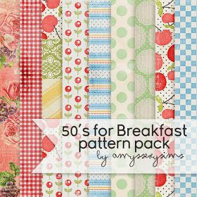My Sims 3 Blog: 50's for Breakfast Pattern Pack by Amyssexysims