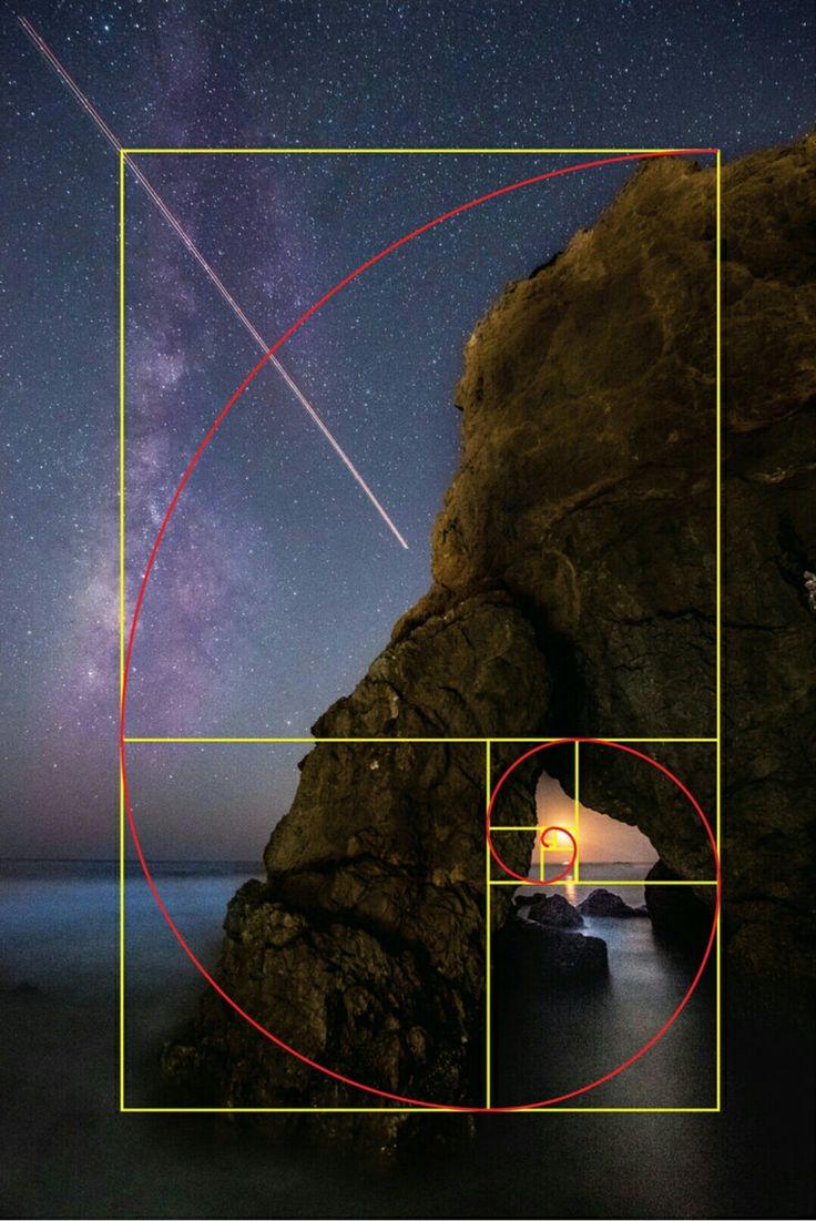 Спиральное золотое сечение в фотографии