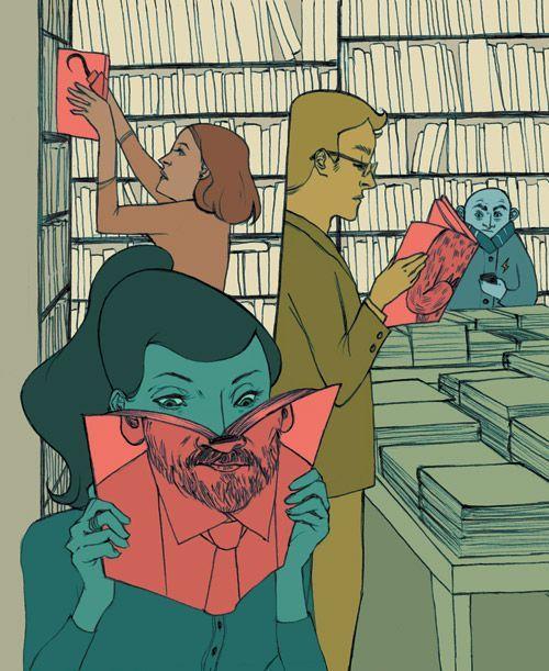 C'è chi a coronamento del fine settimana esce dal lavoro e prende l'aperitivo e chi invece si fionda in libreria...