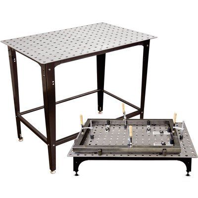 Strong Hand Tools FixturePoint Table and Tools Kit — 28-Pc. Startup Kit, Square Stock, Model# TBHK100
