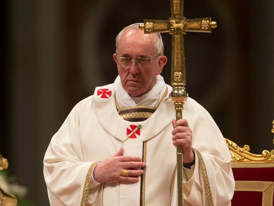 Pope Francis delivered his Easter Vigil on Holy Saturday.
