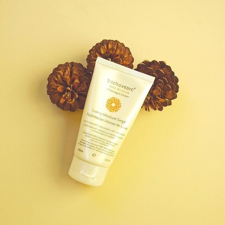 Your hair will absorb Luxury Moisture Surge like a sponge. #trichovedic #hairwisdom #luxuryhaircare #moisturesurge