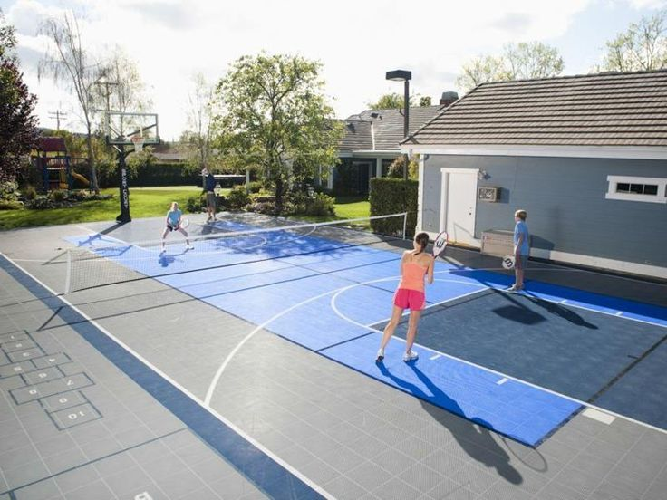 17 Best Ideas About Backyard Tennis Court On Pinterest
