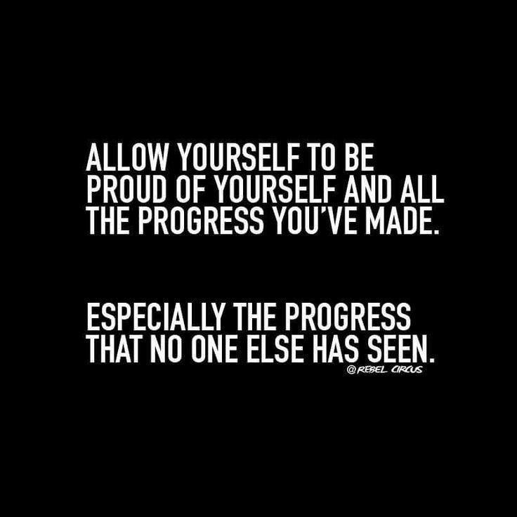 The hard days, the choices made, it all adds up to progress.