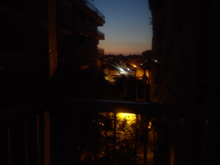 View from My house in Thessaloniki