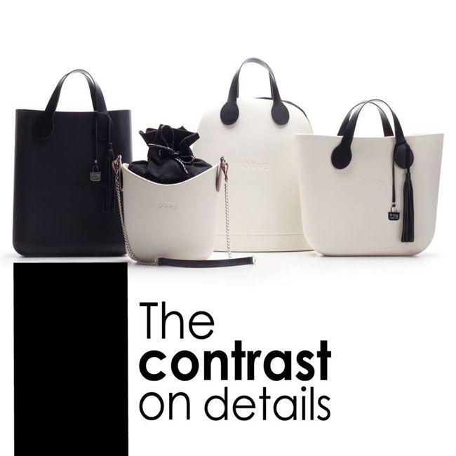 O Bag Fullspot Borse Primavera Estate 2016 Black And White