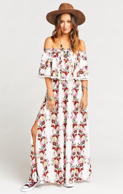 Love this maxi dress!