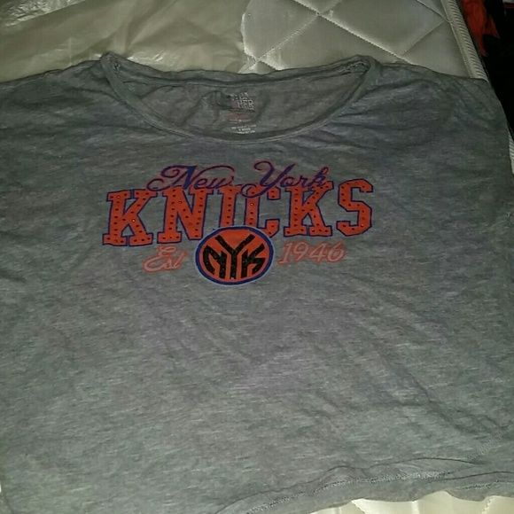Nwe york Knicks T-shirts Grey NBA  Other