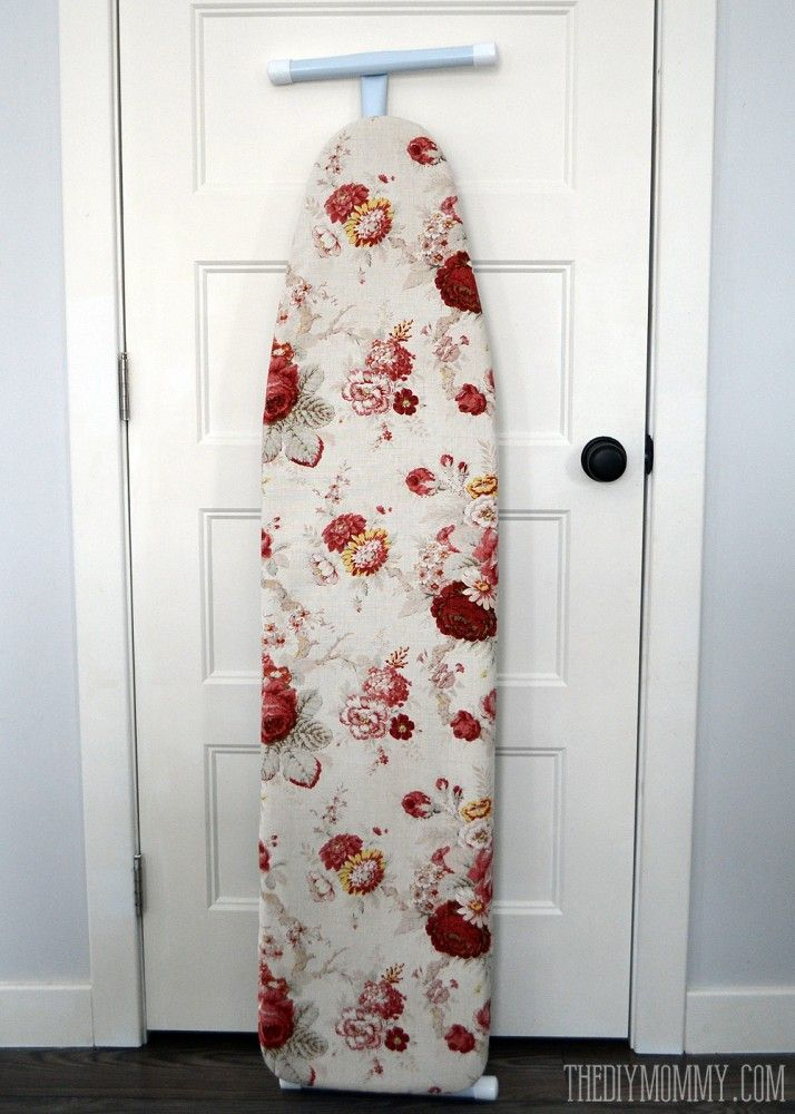 Sew an Easy DIY Ironing Board Cover   The DIY Mommy