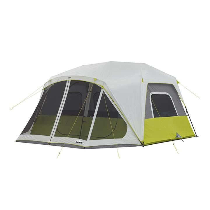 10 Person Instant Cabin Tent With Screen Room 14 X 10 In 2020 Cabin Tent Best Tents For Camping Family Tent Camping