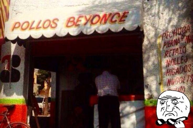 Pollos Beyoncé.