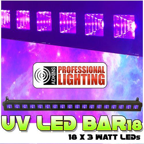 UV LED Black Light Bar 18