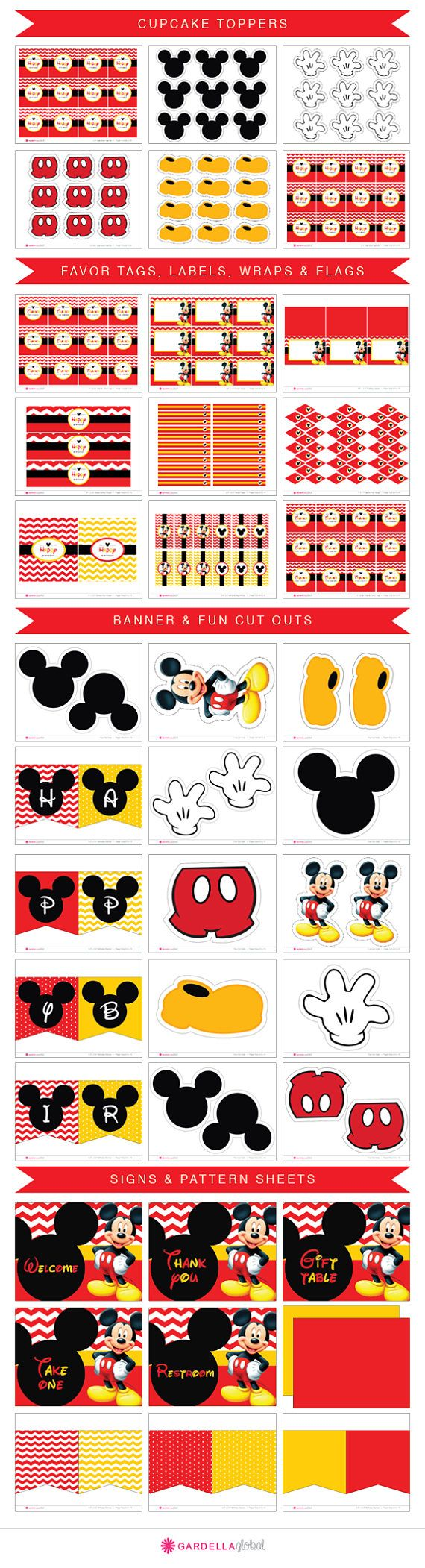 Mickey mouse invitación invitación de Mickey mouse