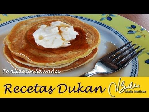 Desayuno Dukan fase Ataque: Tortitas sin Salvado ni tolerados / Dukan Protein Pancakes