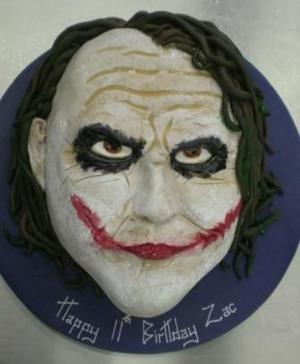 Image detail for -Joker face birthday cakes - wedding cake glasgow edinburgh scotland