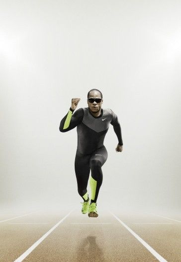 Nike Pro TurboSpeed is a golf ball-inspired track uniform with dimples