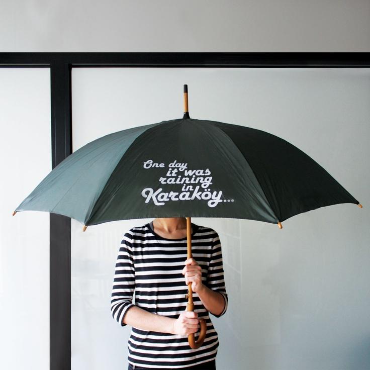 antoine le flâneur umbrella sold at lab::istanbul designshop, karaköy...