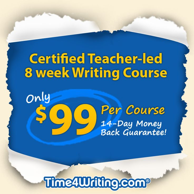 One-on-one online writing courses for kids in elementary, middle and high school. Building basic writing skills covering the mechanics of sentences and paragraphs.