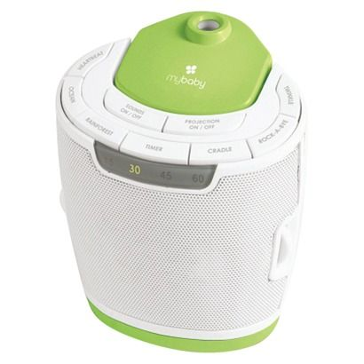 MyBaby by Homedics SoundSpa - Lullaby Relaxation Machine. Baby loves to watch