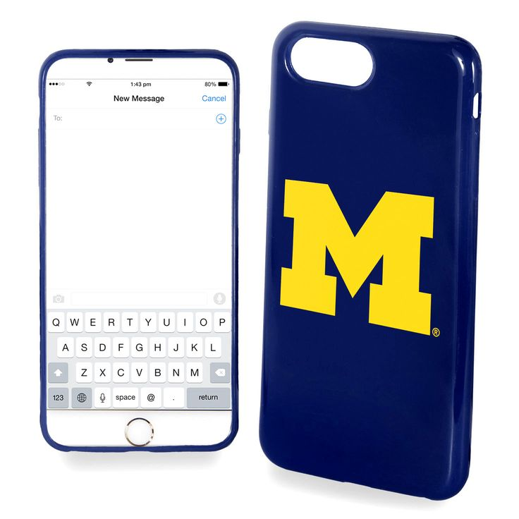 Michigan Wolverines Solid iPhone 7 Case - $19.99