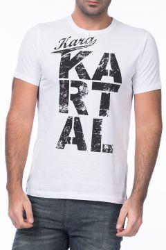 Kartal Yuvası Beşiktaş Erkek Beyaz T-shirt https://modasto.com/kartal-yuvas/erkek-ust-giyim-t-shirt/br26093ct88