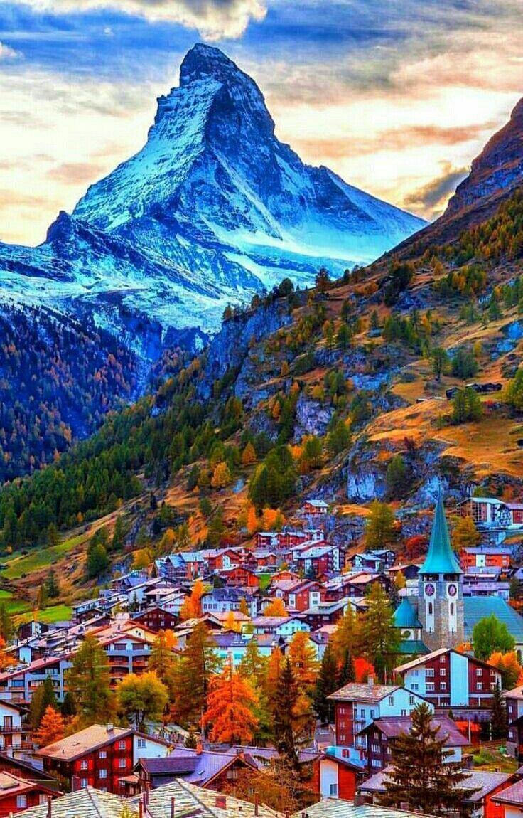 The Matterhorn Switzerland Beautiful Places To Visit
