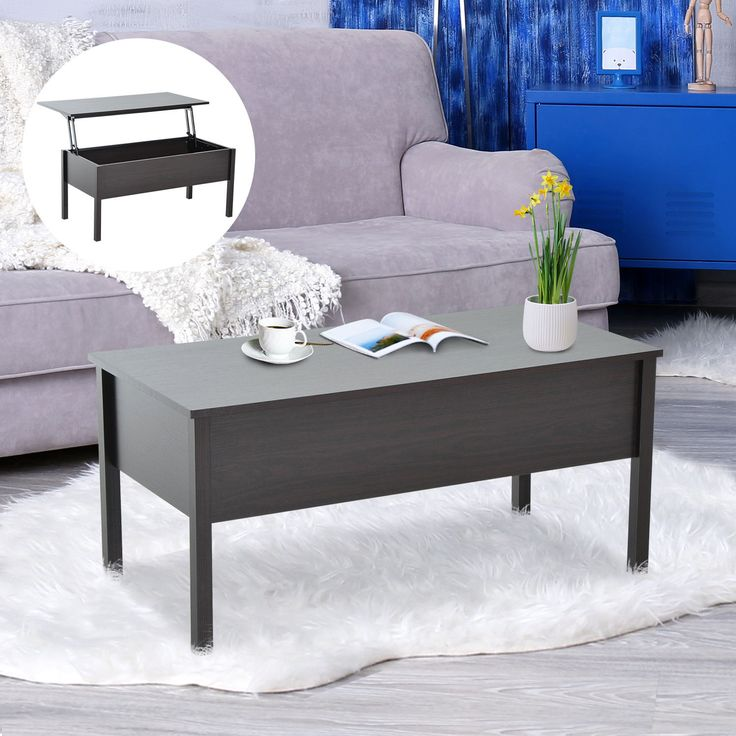 Item specifics     Condition:        New: A brand-new, unused, unopened, undamaged item in its original packaging (where packaging is    ... - #Furniture https://lastreviews.net/home/furniture/homcom-39-lift-top-coffee-tea-table-wood-storage-tray-living-room-furniture/