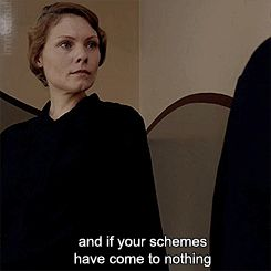 """""""If we're telling the truth game, then you're a manipulative little witch & I'm glad to hear that your schemes have come to nothing."""" ~Thomas Barrow to Edna Braithwaite in the 3rd episode of series 3 of """"Downton Abbey"""""""