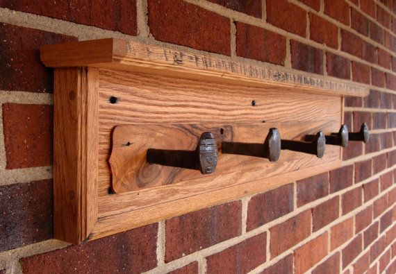 How To Make A Coat Rack With Railroad Spikes Woodworking