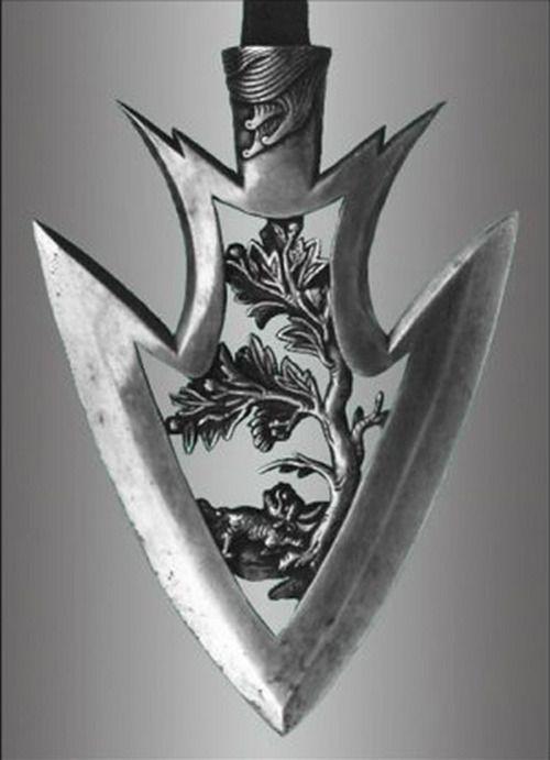 japaneseaesthetics: Arrowhead used on a Kyudo arrow. Japan - The Kimono Gallery