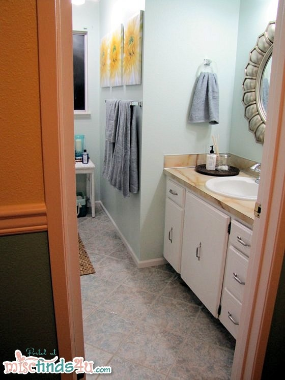 Small Bathroom Quick Makeover 113 best kleenex hand towels guest-ready bathrooms images on