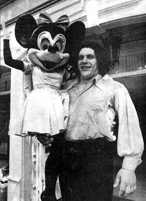 Andre the Giant in Disneyland