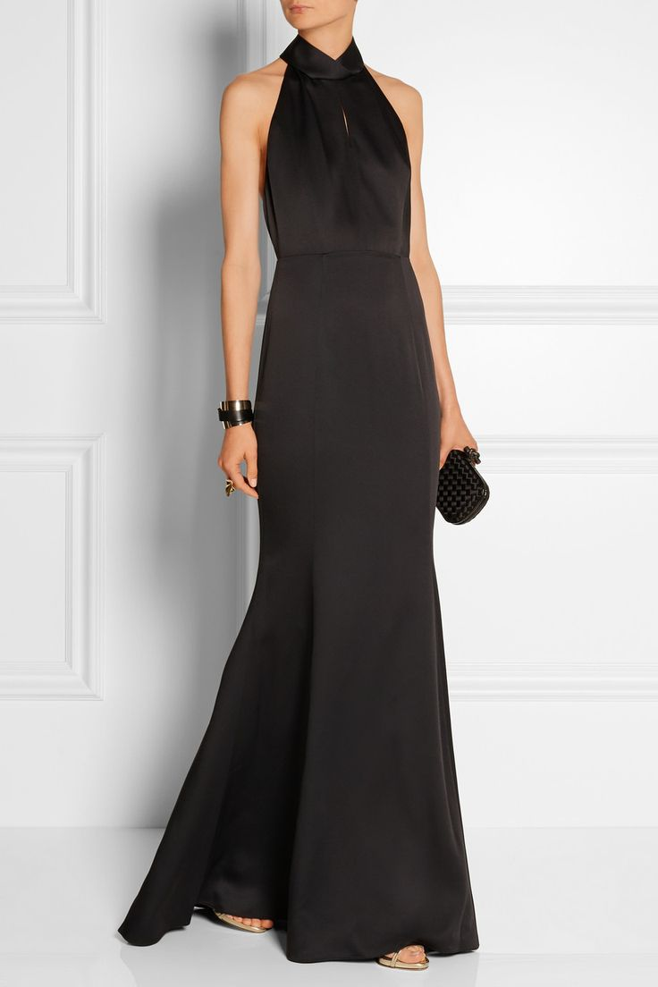 JASON WU Halterneck satin gown $2,195
