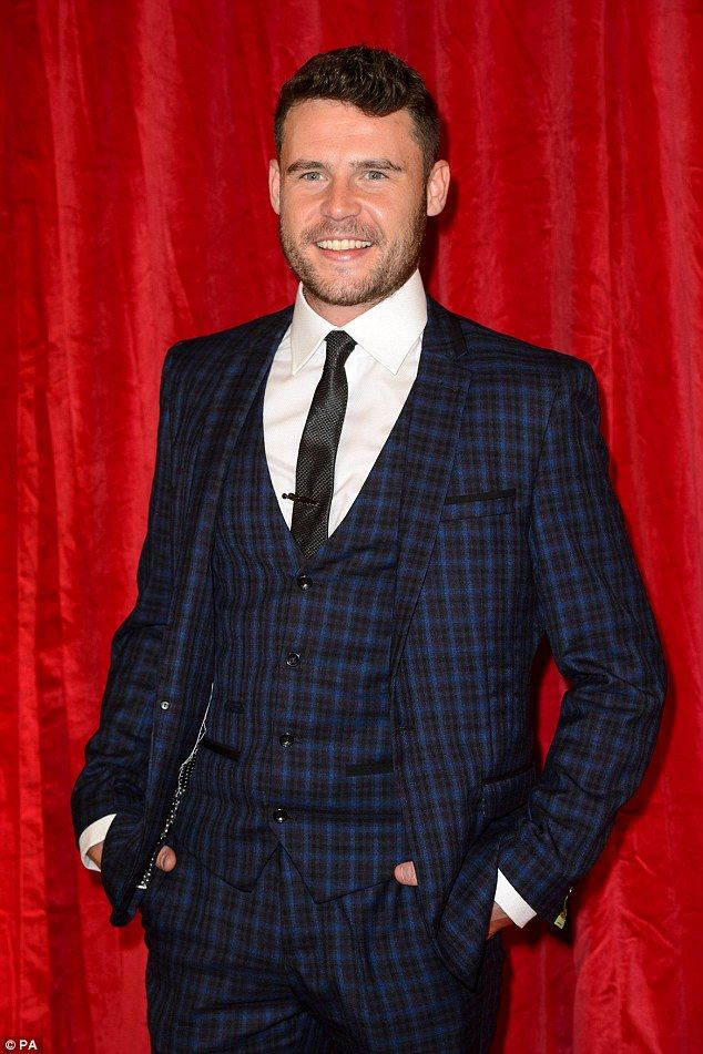 Main man: There was further victory for Emmerdale's Danny Miller, who plays Aaron Livesy, as he won both best actor and best male dramatic performance