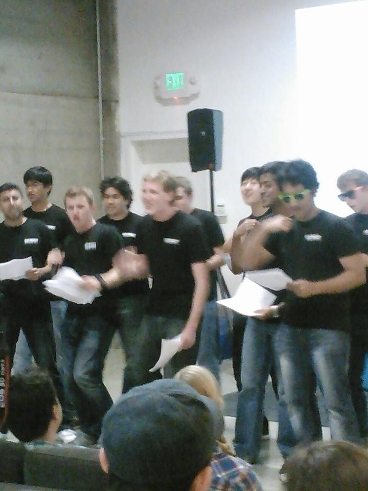 """Klout interns sing """"+K Me Maybe"""" for their farewell -- via Shanti Googins"""