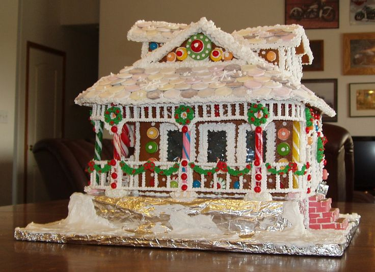 1000+ Images About Gingerbread Houses On Pinterest