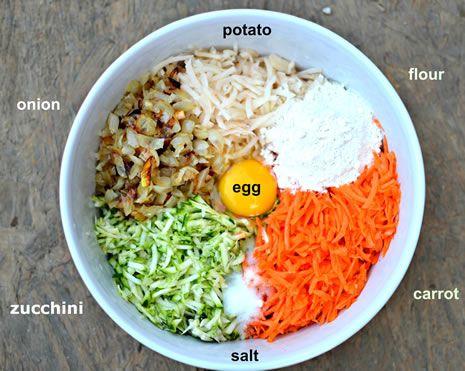 Vegetable Latkes | Food & Drink - Side Dishes | Pinterest
