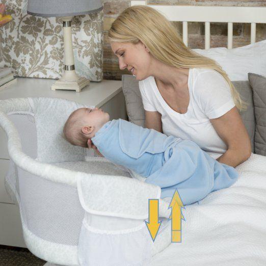 Amazon.com : HALO Premiere Series Swivel 360 degree Sleeper Bassinest : Baby