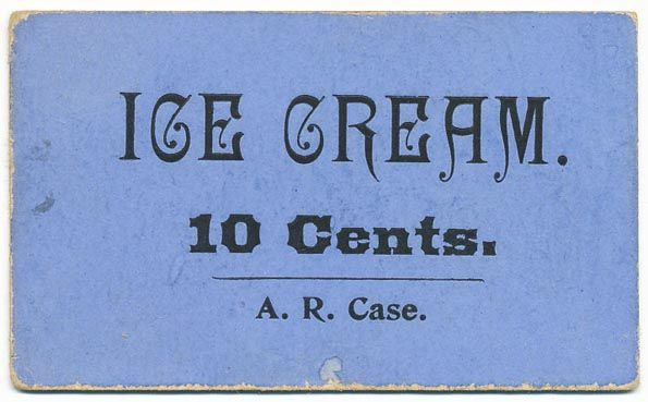 mid-to-late-19th century ticket